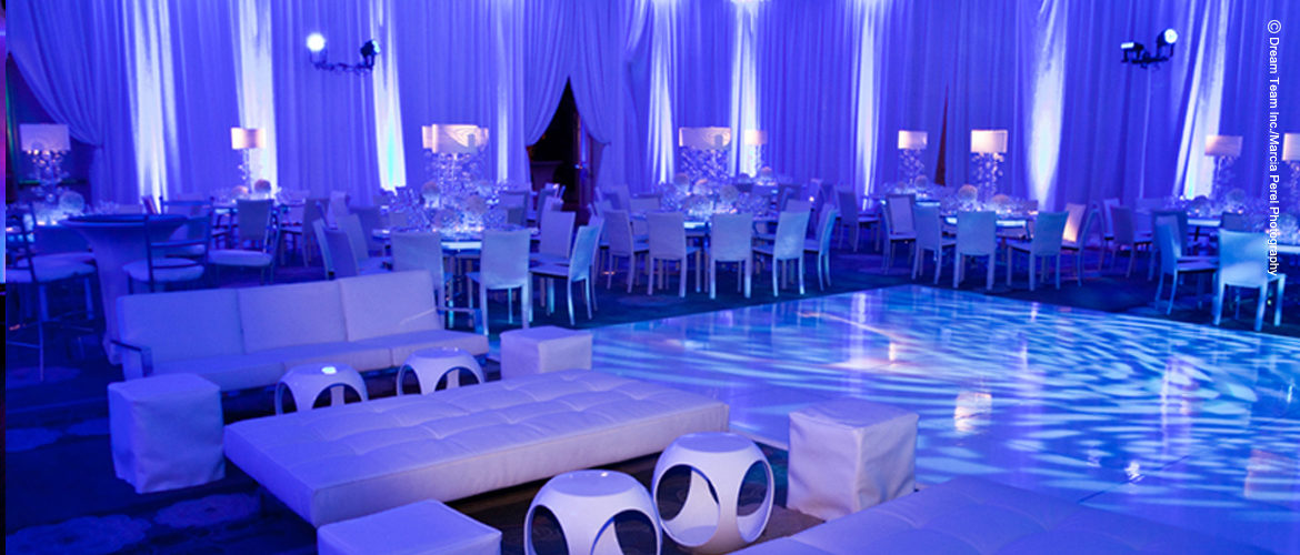 Los Angeles Wedding and Mitzvah Lighting Effects