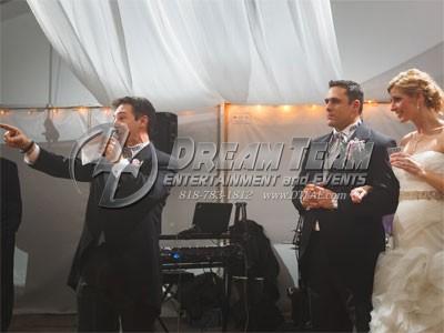 Burbank Wedding DJ - Lights and Dancers